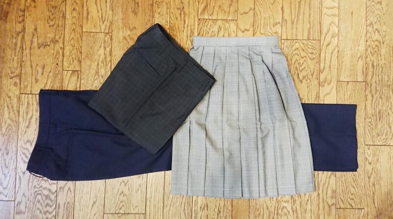 学生服女子スラックス,学生服スカート